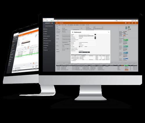 Webbasierte Speditionssoftware: Lademittelverwaltung